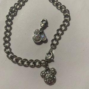 4/$20 Mickey Mouse bracelet + extra Mickey charm